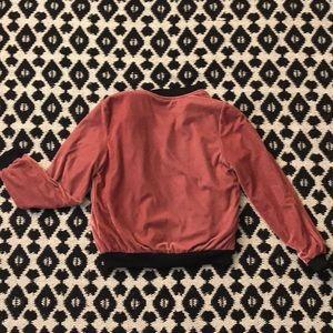 Love Tree Jackets & Coats - Love Tree crushed velvet jacket